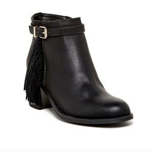 Circus By Sam Edelman Jolie Fringe Boots Size 7